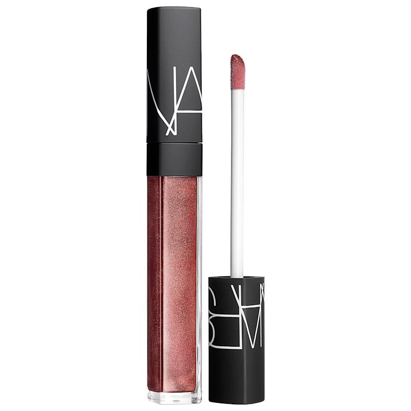 A warm raspberry lip gloss with superior shine and finish.