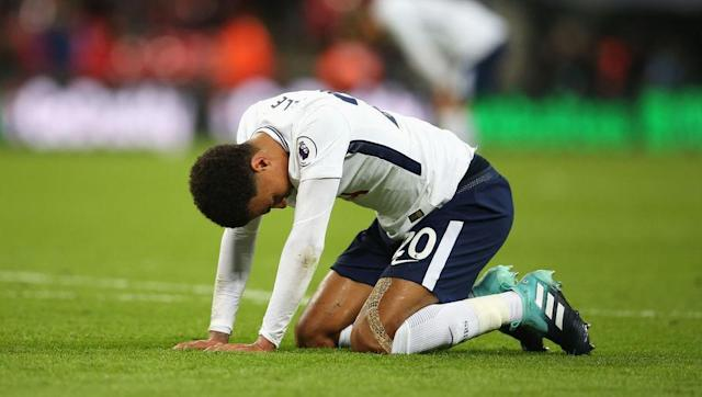 <p>After seeing their side put in a magnificent performance against Borussia Dortmund in the Champions League in midweek, most Tottenham fans expected Spurs to ease past Swansea on Saturday.</p> <br><p>Instead, the visitors came well prepared, managing to stifle Mauricio Pochettino's team of most of their creativity, while Lukas Fabianski also had a blinder in goal as the Swans secured a goalless draw.</p> <br><p>It is the third game at Wembley in the Premier League that Tottenham have failed to win this season, previously losing to Chelsea and drawing with Burnley, and they won't get a chance to put that record right until the match against Bournemouth in October.</p>