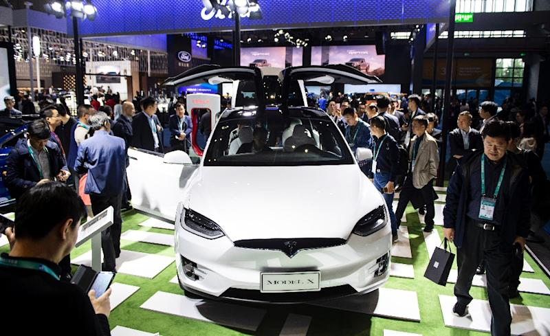 Tesla is betting on China's growing market for electric cars