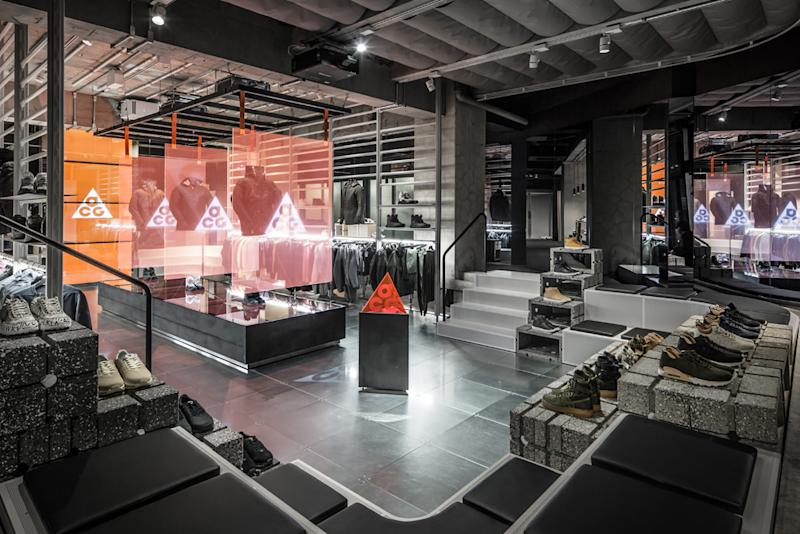 How Nike Incorporated Japanese Culture Into Tokyo s NikeLab Location d49f2a59de5e