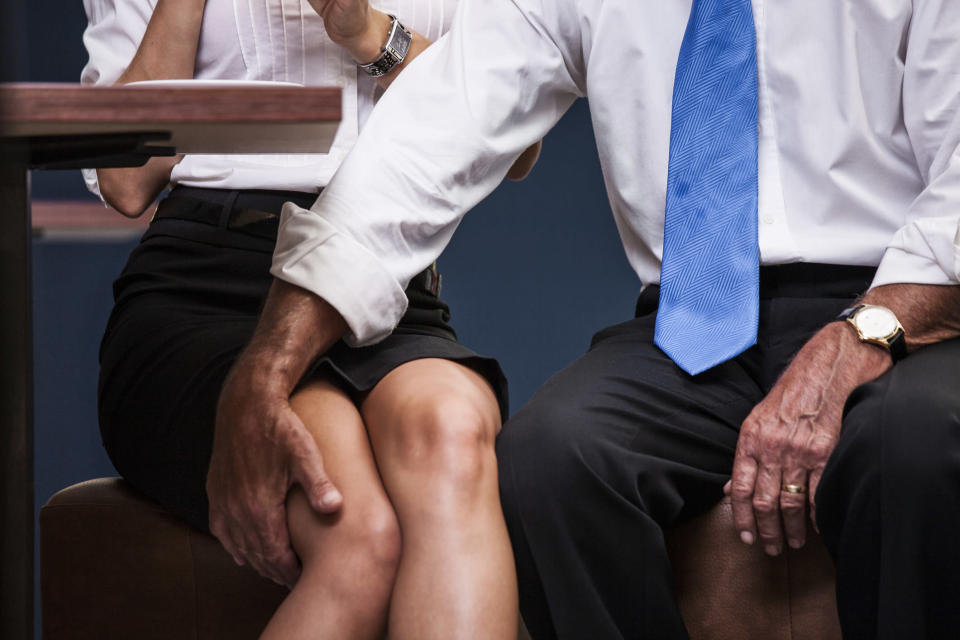 It shouldn't be up to women to carry on the conversation. <i>(Getty Images)</i>