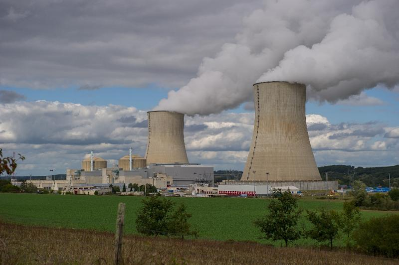 The Civaux nuclear power plant, 34 km southeast of Poitiers, Western France