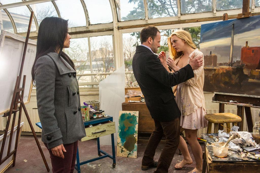 """The Woman"" - As Sherlock (Jonny Lee Miller) reels at the reappearance of his former lover, Irene Adler (Natalie Dormer), a series of flashbacks unravel the tumultuous events that led to his downfall into addiction , on the two hour season finale of ""Elementary."""