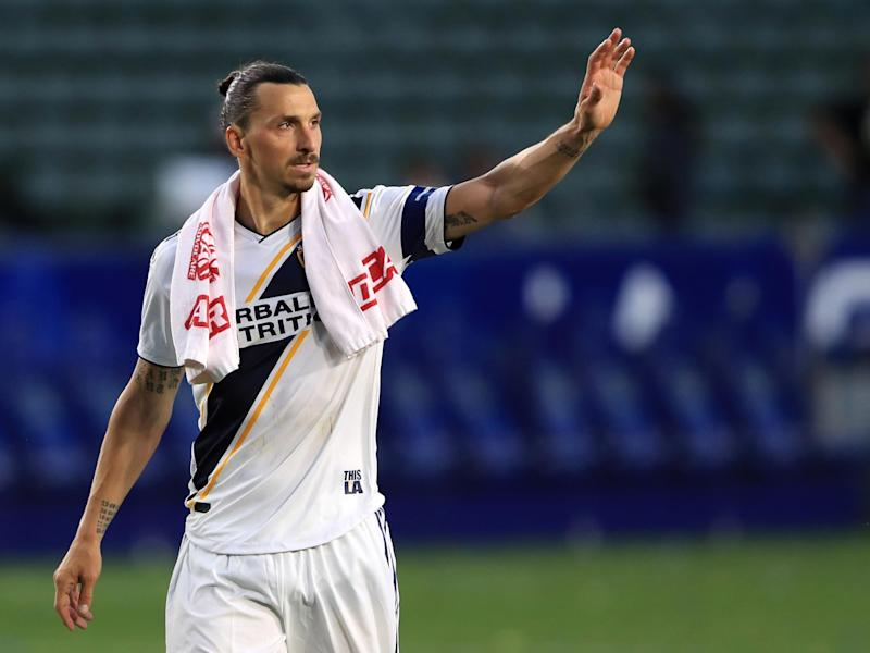 Zlatan Ibrahimovic has thanked LA Galaxy after his departure from the club was confirmed: Getty