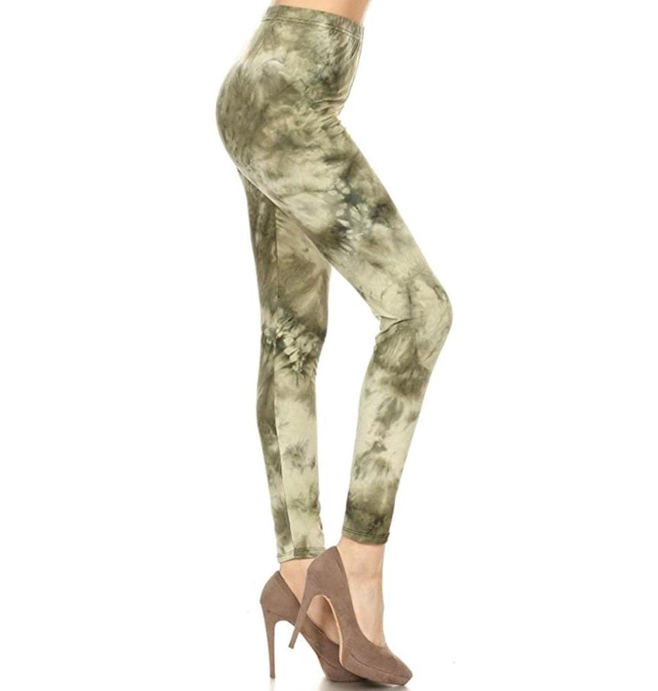"""<p><strong>Reviews & rating:</strong> 10,249 reviews, 4.6 out of 5 stars.</p> <p><strong>Key selling points:</strong> These Leggings Depot leggings are a home-run for tall and plus-size shoppers, per the reviews. While these are more of a fashion legging than a workout legging (they feature a one-inch waistband and come in 45 playful prints), Leggings Depot is known for soft and supple fabric despite the lower price point. </p> <p><strong>What customers say:</strong> """"I can't seem to shake this urge to collect all Leggings Depot leggings. They fit well, which is hard for a tall person, and the fabric is simply dreamy. I also love the wide variety of prints. As always, my newest pair got a million compliments last time I was out running errands. I tried another brand, but it did not compare with the quality I get from LD leggings. Thank you!"""" —<a href=""""https://www.amazon.com/gp/profile/amzn1.account.AEBGK5CJYONCCDWEXPZHM6T4LOVA/ref=cm_cr_arp_d_gw_btm?ie=UTF8"""" rel=""""nofollow noopener"""" target=""""_blank"""" data-ylk=""""slk:Elle"""" class=""""link rapid-noclick-resp""""><em>Elle</em></a><em>, reviewer on Amazon</em></p> $10, Amazon. <a href=""""https://www.amazon.com/Leggings-Depot-R683-PLUS-L-2X-12-20/dp/B079Z1LNFH/ref="""" rel=""""nofollow noopener"""" target=""""_blank"""" data-ylk=""""slk:Get it now!"""" class=""""link rapid-noclick-resp"""">Get it now!</a>"""