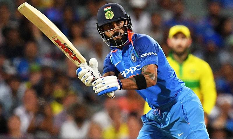 Virat Kohli carries the weight of huge expectation