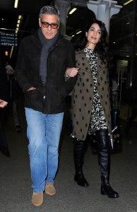 How New Parents George and Amal Clooney Nested in England Ahead of