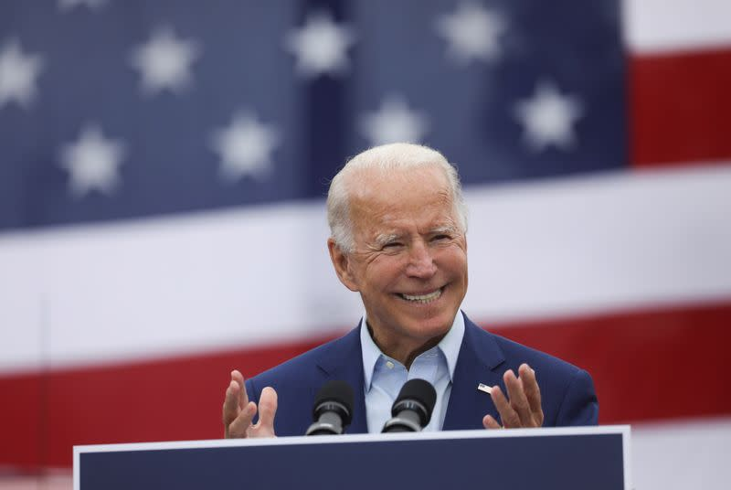 Biden leads Trump by 12 points nationally among likely voters - Reuters/Ipsos