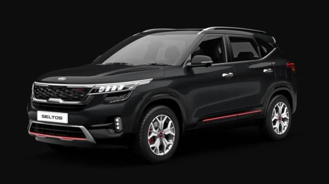Kia Seltos is one feature-loaded SUV. It boasts of a spectacular front fascia with tiger-nose grille, LED headlamps, LED DRLs, LED fog lamps and LED tail lamps. Other features include 17-inch crystal-cut alloy wheels, dual muffler design on the bumper, ridge chrome line and dual exhaust pipes.