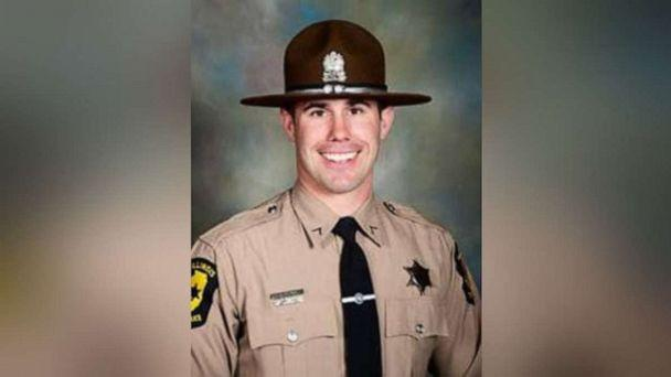 PHOTO: Illinois State Police trooper Nicholas Hopkins, 33, was shot and killed serving a warrant at a home in East St. Louis, Ill., on Friday, Aug. 23, 2019. (Illinois State Police)