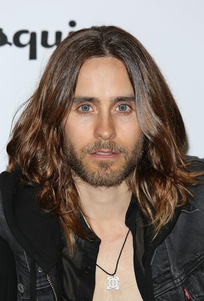 LONDON, ENGLAND - MAY 29:  Jared Leto attends Esquire's first summer party at Somerset House on May 29, 2013 in London, England.  (Photo by Tim P. Whitby/Getty Images)
