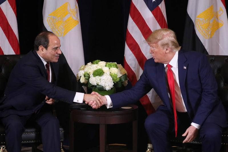 Trump speaks with Egypt's Sisi, backs talks on disputed Ethiopia dam - White House