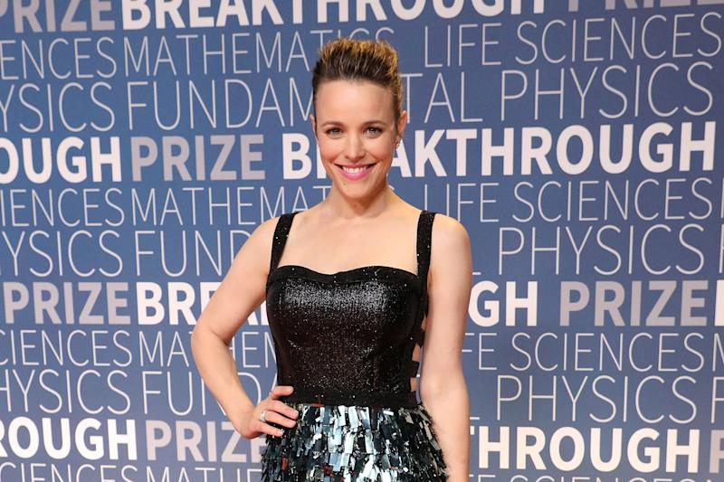MOUNTAIN VIEW, CA - NOVEMBER 04: Rachel McAdams attends the 7th Annual Breakthrough Prize Ceremony at NASA Ames Research Center on November 4, 2018 in Mountain View, California. (Photo by Taylor Hill/Getty Images)