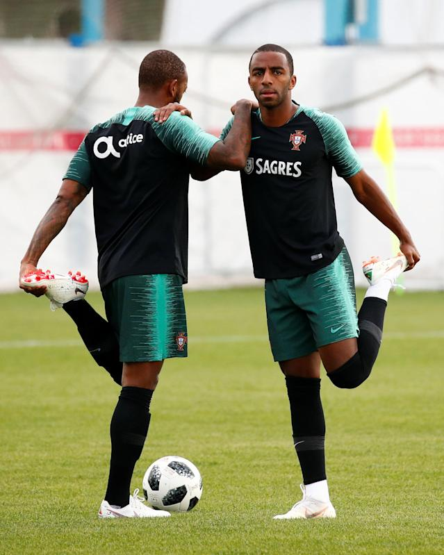 Soccer Football - World Cup - Portugal Training - Portugal Training Camp, Moscow, Russia - June 21, 2018 Portugal's Ricardo Pereira during training REUTERS/Axel Schmidt