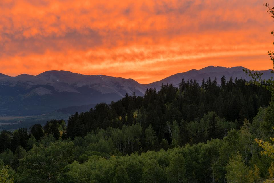 """Sometimes Colorado hikes can feel too adventurous for the casual hiker. Not this one: Kenosha Pass, just outside of Jefferson, Colorado, is smooth and easy-rolling, with rewards galore. Expect to see high alpine meadows, """"13ers"""" (that's 13,000-foot peaks) in the distance, and three streams."""