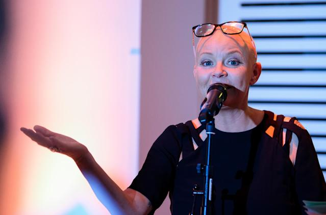 Gail Porter talks at Wellcome Collection on September 25, 2018 in London, England. Joe Maher/Getty Images)