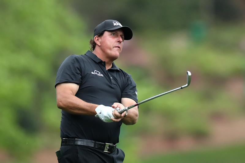 If Phil Mickelson is going to exorcise his demons at Winged Foot, he wants to earn his way in. (Photo by David Cannon/Getty Images)