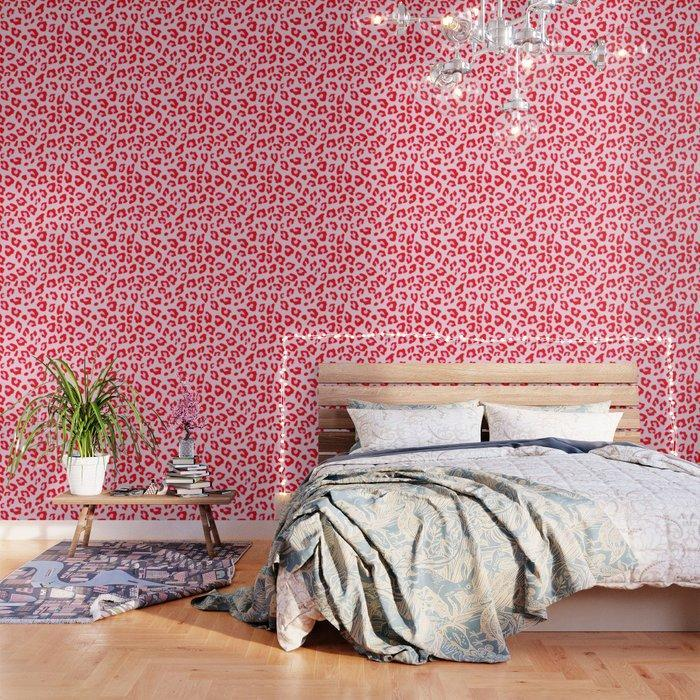 """<a href=""""https://www.architecturaldigest.com/gallery/decorating-with-animal-prints?mbid=synd_yahoo_rss"""" rel=""""nofollow noopener"""" target=""""_blank"""" data-ylk=""""slk:Animal print"""" class=""""link rapid-noclick-resp"""">Animal print</a> never seems to go out of style, so why not turn your bedroom walls into beautiful leopard backsplashes? Shop Society6 for more one-of-a-kind wallpapers from their legion of independent artists and creatives. $49, Society6. <a href=""""https://society6.com/product/leopard-print-red-and-pink_wallpaper?sku=s6-9641103p69a216v762"""" rel=""""nofollow noopener"""" target=""""_blank"""" data-ylk=""""slk:Get it now!"""" class=""""link rapid-noclick-resp"""">Get it now!</a>"""