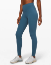 """<p><strong>Lululemon</strong></p><p>lululemon.com</p><p><strong>$98.00</strong></p><p><a href=""""https://go.redirectingat.com?id=74968X1596630&url=https%3A%2F%2Fshop.lululemon.com%2Fp%2Fwomen-pants%2FAlign-Pant-Full-Length-28%2F_%2Fprod8780551&sref=https%3A%2F%2Fwww.seventeen.com%2Ffashion%2Fg30200784%2Fbest-leggings-brands%2F"""" rel=""""nofollow noopener"""" target=""""_blank"""" data-ylk=""""slk:Shop Now"""" class=""""link rapid-noclick-resp"""">Shop Now</a></p><p>Understatement of the century: <a href=""""https://www.seventeen.com/fashion/g27325538/best-lululemon-leggings/"""" rel=""""nofollow noopener"""" target=""""_blank"""" data-ylk=""""slk:Lululemon makes great leggings"""" class=""""link rapid-noclick-resp"""">Lululemon makes great leggings</a>. Even with the $$$ price tag, these babies are <em>so </em>worth it. Others have tried to duplicate their buttery soft fabric, but so far, no one has been able to replicate the cloud-like feel of a pair of <a href=""""https://go.redirectingat.com?id=74968X1596630&url=https%3A%2F%2Fshop.lululemon.com%2Fp%2Fwomen-pants%2FAlign-Pant-Full-Length-28%2F_%2Fprod8780551&sref=https%3A%2F%2Fwww.seventeen.com%2Ffashion%2Fg30200784%2Fbest-leggings-brands%2F"""" rel=""""nofollow noopener"""" target=""""_blank"""" data-ylk=""""slk:Align Pants"""" class=""""link rapid-noclick-resp"""">Align Pants</a>. Both hardcore athletes and leggings-as-pants people will find their next favorite pair at <a href=""""https://go.redirectingat.com?id=74968X1596630&url=https%3A%2F%2Fshop.lululemon.com%2F&sref=https%3A%2F%2Fwww.seventeen.com%2Ffashion%2Fg30200784%2Fbest-leggings-brands%2F"""" rel=""""nofollow noopener"""" target=""""_blank"""" data-ylk=""""slk:Lululemon"""" class=""""link rapid-noclick-resp"""">Lululemon</a>. </p>"""