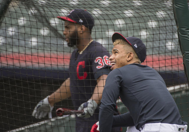 Indians 'breathing' and tweak lineup for Game 3 of ALDS
