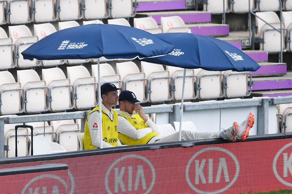 James Bracey and Ollie Robinson look set to graduate from 12th man duties with England (Getty Images)