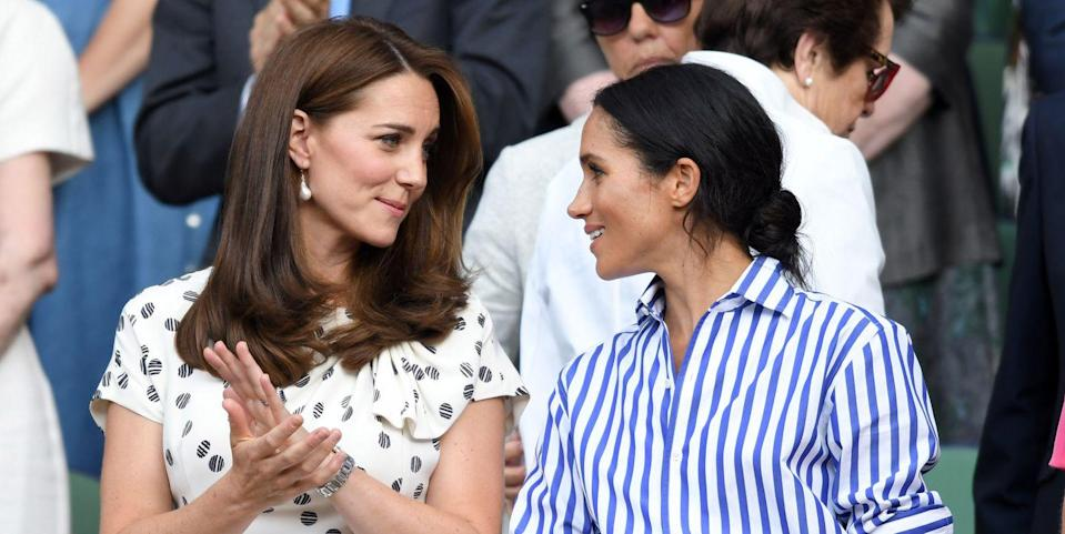 Inside Meghan Markle and a 'Guarded' Kate Middleton's First Private Meeting
