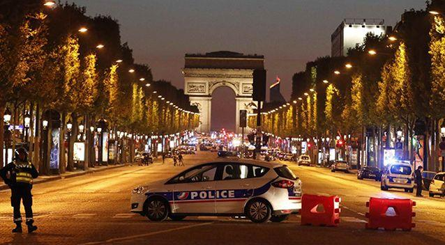 One police officer and an attacker are dead after a shooting in Paris. Photo: Reuters
