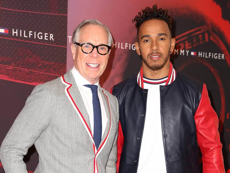 tommy hilfiger and lewis hamilton announce capsule collection. Black Bedroom Furniture Sets. Home Design Ideas