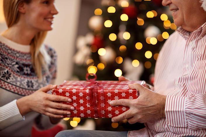 <p>Probably the most classic Christmas party game, White Elephant revolves around what everyone loves the most about the holiday: gifts.</p><p>Here's how to play: Each person participating brings a wrapped gift. Then, each person picks a number out of a hat—this is the order in which you'll be choosing gifts from the pile. The first person chooses a gift, then opens it. The next player can then choose to either steal the already opened gift, or choose another from the pile to open. If your gift is stolen, you may also choose to steal another gift or open a new one from the pile. The game continues until all the gifts have been opened and distributed.</p>