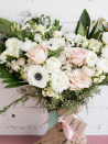 "<p>Thinking of sending flowers as a Galentine's Day gift? Your loved one will appreciate <a href=""https://farmgirlflowers.com/fun-size-burlap-wrapped-bouquet"" rel=""nofollow noopener"" target=""_blank"" data-ylk=""slk:a bespoke arrangement from Farmgirl Flowers for $59"" class=""link rapid-noclick-resp"">a bespoke arrangement from Farmgirl Flowers for $59</a> (Think: peonies vs. carnations). Or, if you feel like taking on a DIY project, for the same price, the company also offers the ""Market Box"" filled with 25 stems and greens so you can create your own arrangement at home. </p><p><a class=""link rapid-noclick-resp"" href=""https://farmgirlflowers.com/shop"" rel=""nofollow noopener"" target=""_blank"" data-ylk=""slk:SHOP NOW"">SHOP NOW</a></p>"