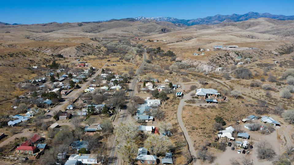 Hillsboro, New Mexico, a rural community, receives COVID-19 vaccinations in late March 2021.