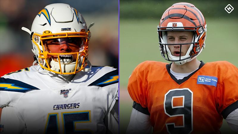 DraftKings Week 1 Sunday NFL Showdown: Picks, advice for Bengals vs. Chargers DFS