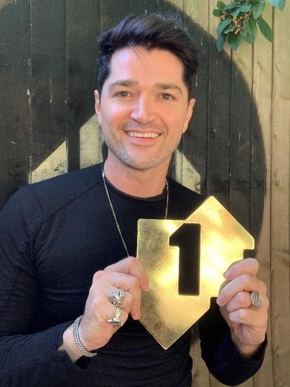 The Script's Danny O'Donoghue (Official Charts Company/PA)