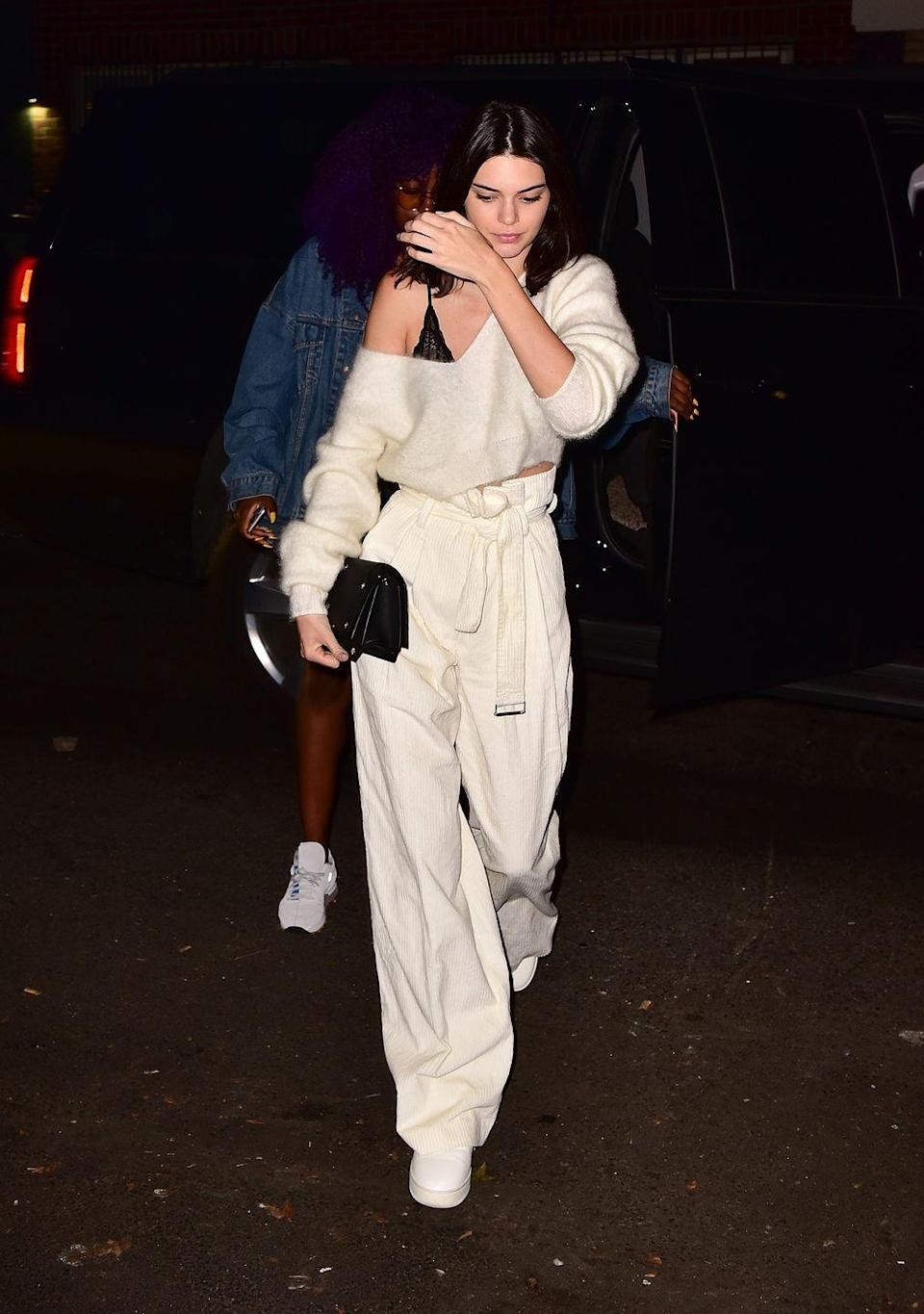 <p>Kendall Jenner in New York, July 2016</p>