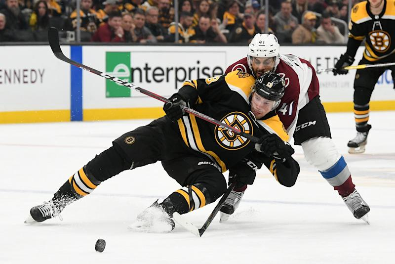 Joe Haggerty's Talking Points from the B's 4-1 loss to the Avalanche