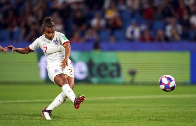Lyon's Nikita Parris is not included in the squad (John Walton/PA).
