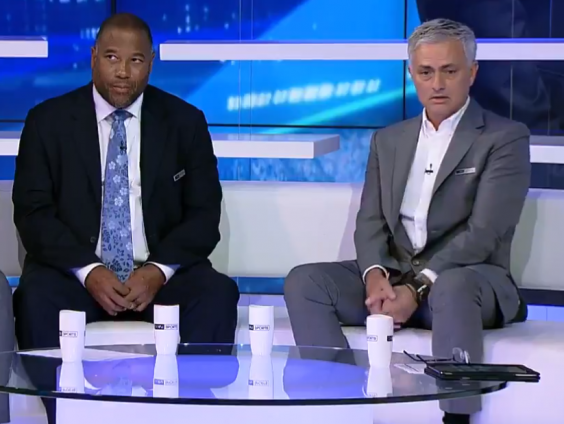 Jose Mourinho has featured as a pundit since being sacked by United (beIN SPORTS )