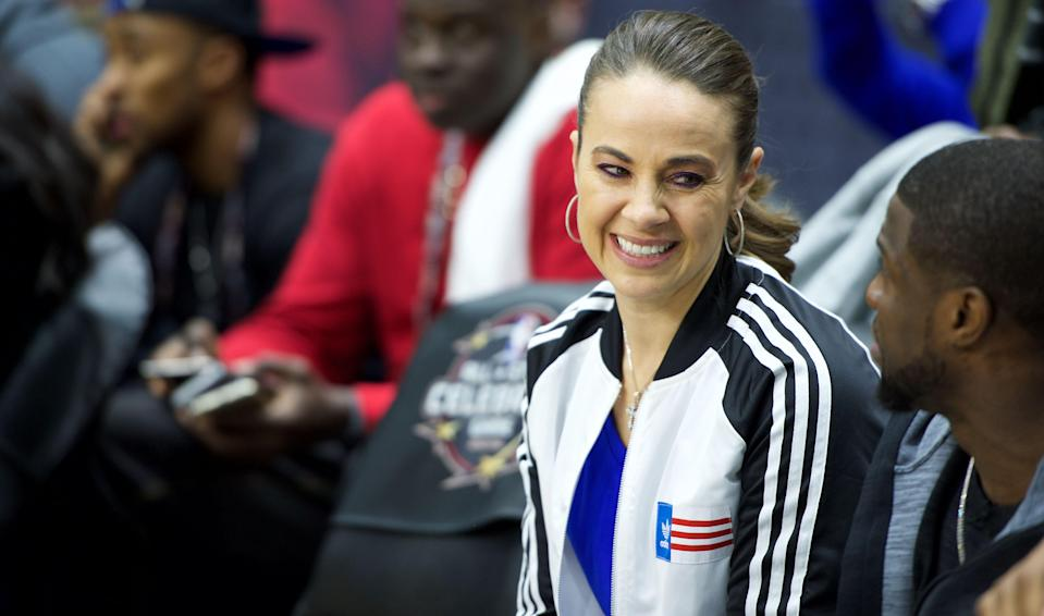 Becky Hammon could be up for a college job if she's interested. (AP)
