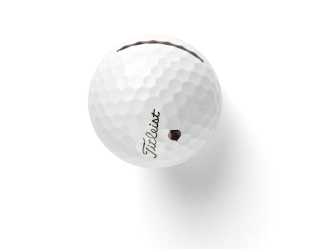 "<p><strong>Dot It Out</strong></p> <p>I use the 2013 Titleist Pro V1x because I used that ball during my best year in college. I dot out the number. I don't want to get into a mind-set of ""Oh, I played well with a No. 1 ball, so I'll keep using that.""</p>"