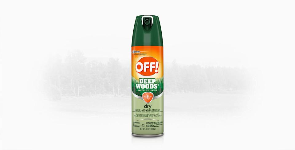 Off! Deep Woods Dry Insect Repellent VIII