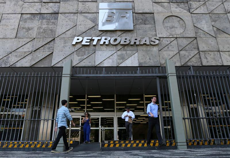 Brazil's state-run Petrobras oil company headquarters is pictured in Rio de Janeiro