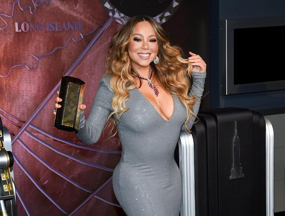 """Mariah Carey gives shady clapback to an uncleared sample of her song """"Shake it Off."""""""