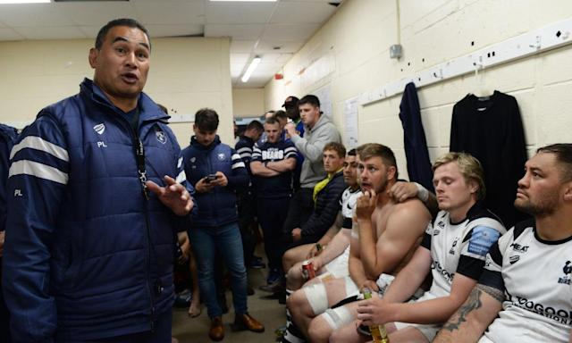 Bristol's Pat Lam (left) is on the shortlist for director of rugby of the season, the only one from outside the top four.