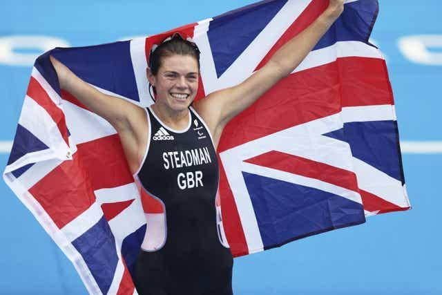Great Britain's Lauren Steadman made up for her Rio disappointment
