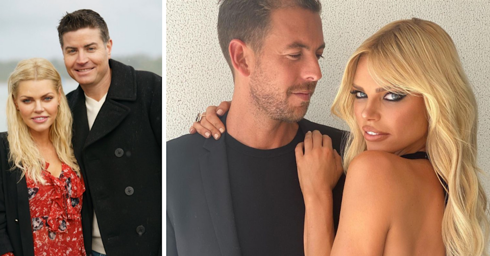 Sophie Monk and Stu Laundy on The Bachelorette