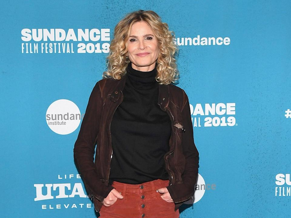 <p>Kyra Sedgwick reveals what happened when she hit a 'panic button' at Tom Cruise's house: 'I didn't get invited back'</p> (Getty Images)
