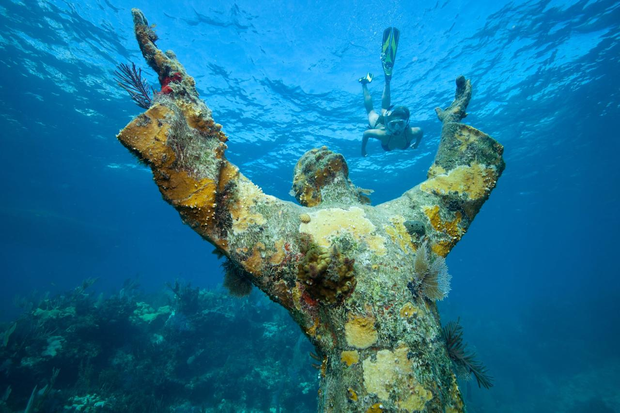 """<p>One of the greatest adventures in Key Largo is the amount of abundant underwater landmarks, and they're so accessible! The most well-known scuba diving spots in Key Largo include <a href=""""http://www.tripadvisor.com/AttractionProductReview-g34344-d19146911-Half_Day_Scuba_Diving_Trip_in_the_Florida_Keys-Key_Largo_Florida_Keys_Florida.html"""" target=""""_blank"""" class=""""ga-track"""" data-ga-category=""""Related"""" data-ga-label=""""http://www.tripadvisor.com/AttractionProductReview-g34344-d19146911-Half_Day_Scuba_Diving_Trip_in_the_Florida_Keys-Key_Largo_Florida_Keys_Florida.html"""" data-ga-action=""""In-Line Links"""">Christ of the Abyss on Dry Rock</a> (pictured above), <a href=""""http://www.tripadvisor.com/Attraction_Review-g34344-d208176-Reviews-Benwood_wreck-Key_Largo_Florida_Keys_Florida.html"""" target=""""_blank"""" class=""""ga-track"""" data-ga-category=""""Related"""" data-ga-label=""""http://www.tripadvisor.com/Attraction_Review-g34344-d208176-Reviews-Benwood_wreck-Key_Largo_Florida_Keys_Florida.html"""" data-ga-action=""""In-Line Links"""">Benwood Wreck</a>, and  <a href=""""http://www.tripadvisor.com/Attraction_Review-g34344-d208164-Reviews-USCG_Duane-Key_Largo_Florida_Keys_Florida.html"""" target=""""_blank"""" class=""""ga-track"""" data-ga-category=""""Related"""" data-ga-label=""""http://www.tripadvisor.com/Attraction_Review-g34344-d208164-Reviews-USCG_Duane-Key_Largo_Florida_Keys_Florida.html"""" data-ga-action=""""In-Line Links"""">USCG Duane</a>. When creating your scuba itinerary, keep in mind some companies may require divers to be certified beforehand.</p>"""