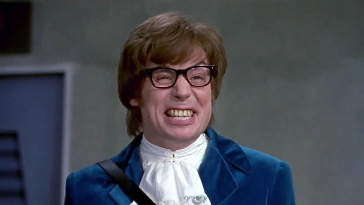 Mike Myers portrayed the title character in all three 'Austin Powers' films. (Credit: New Line Cinema)