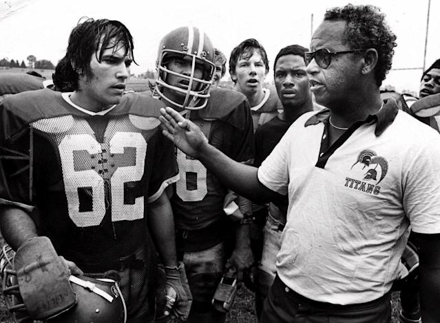 Herman Boone led the Titans to the state championship in 1971. (AP Photo)
