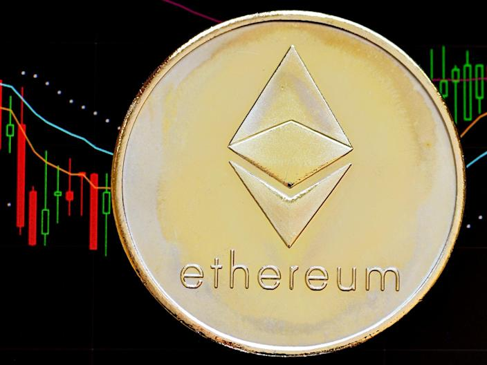 Ethereum's price hit a new record high on 29 April, 2021 (Getty Images)